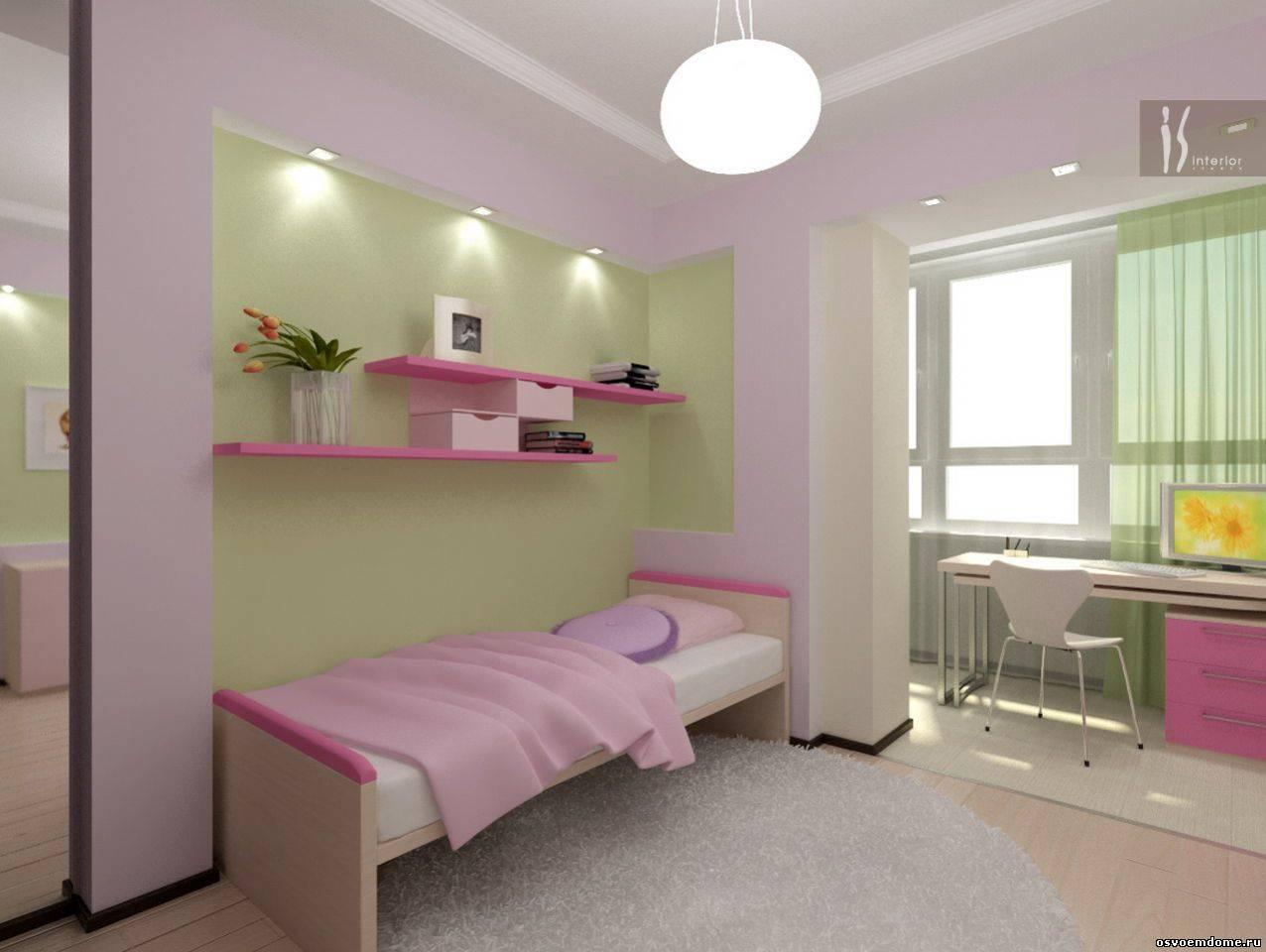 Фото детских комнат объединенных с лоджией.